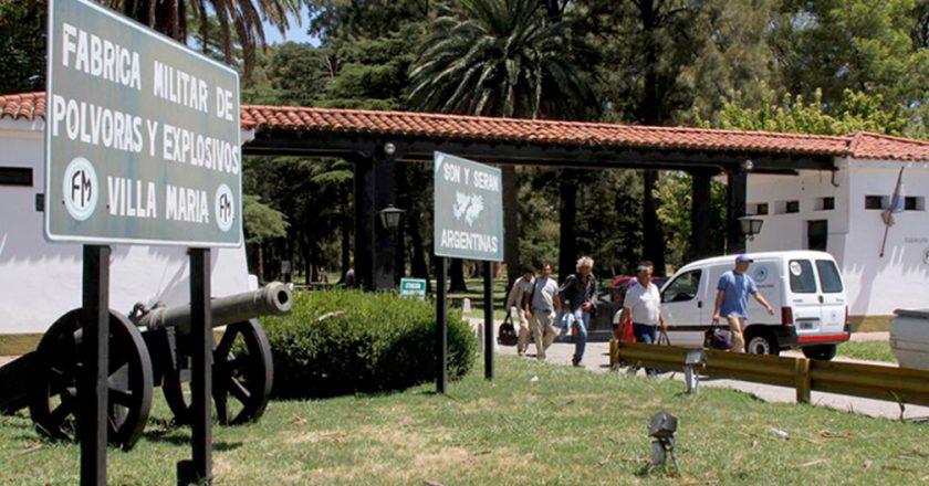 Fabricaciones Militares reincorpora a 17 trabajadores en la planta de Villa María que habían sido despedidos por el macrismo