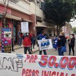 Como en Neuquén, la protesta salarial de La Rioja sale a la calle con autoconvocados y los docentes van a un paro de 120 horas con cortes de rutas
