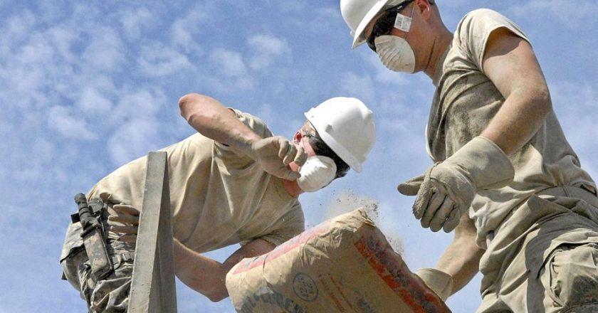 Empujada por la obra pública, la construcción recuperó 40 mil empleos y ya emplea casi a 360 mil trabajadores registrados
