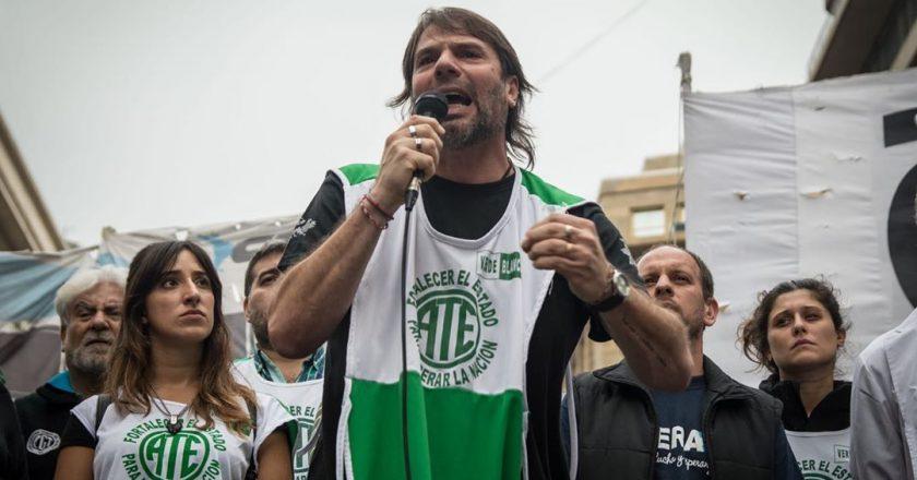 Catalano avisó que, de ser necesario, irán a la justicia para evitar que vuelvan a la presencialidad los estatales que sean grupos de riesgo