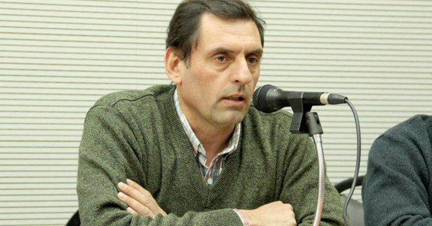 Alejandro Salcedo asumió el cargo de secretario general del sindicato docente Udocba tras el fallecimiento de Miguel Diaz