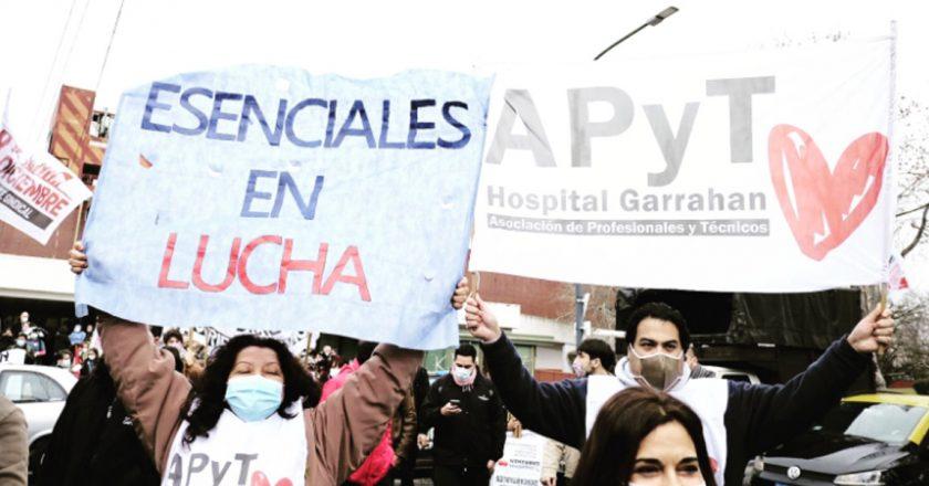 Trabajadores del Garrahan se reunieron con Salud, llevan la respuesta a la asamblea y sostienen el plan de lucha