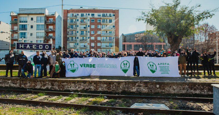 Se presentó el espacio Verde y Blanco que irá por un recambio en la conducción del gremio de jerárquicos ferroportuarios