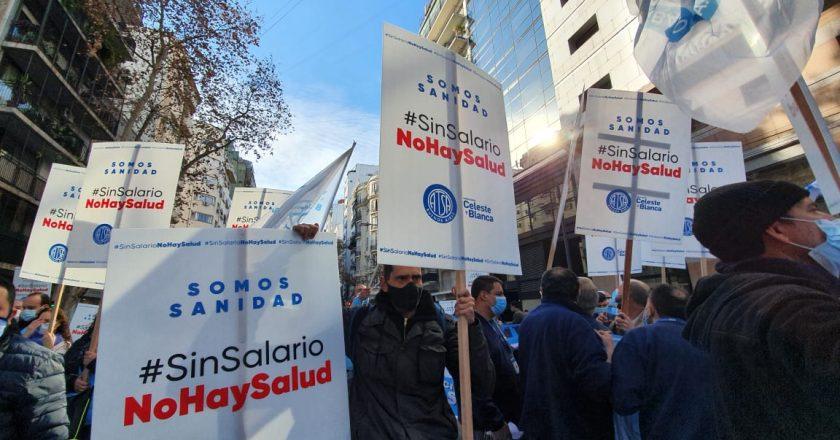 Trabajadores de la Sanidad de Buenos Aires movilizaron a la asamblea y exigieron aumento salarial