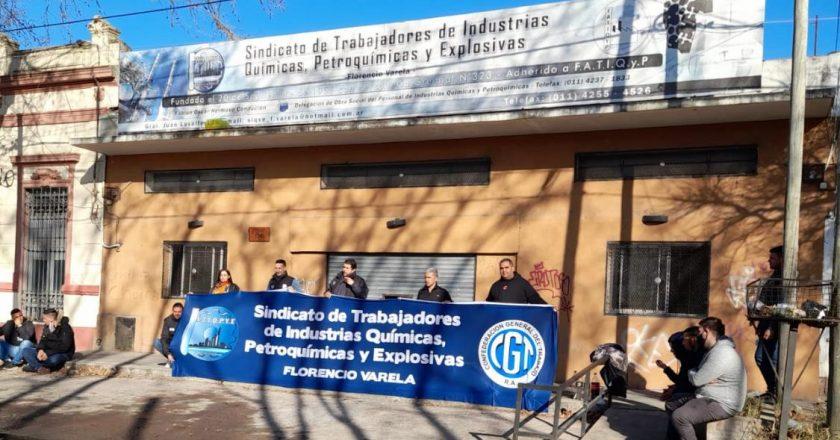 Trabajo dio por finalizada la intervención del Sindicato Químico de Florencio Varela