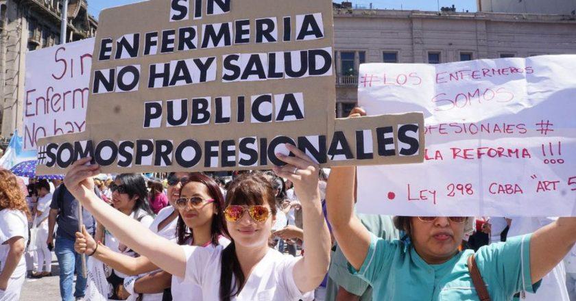 Trabajadores porteños de la salud le piden mejoras salariales a Larreta e iniciaron un paro por 48 horas