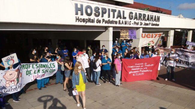 Paro de 48 horas en el Garrahan: exigen aumento del 50% y piden un mínimo de 99 mil pesos