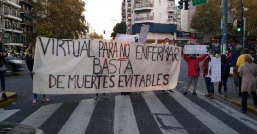 Gremios docentes porteños ya definieron paros y protestas frente a presencialidad «sin burbujas» que anunció Larreta
