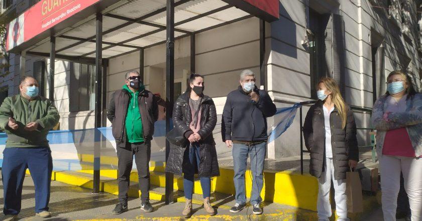 ATE confirmó 72 horas en el Hospital Rivadavia sin ingresos de pacientes con Covid-19