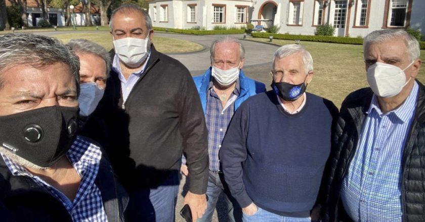 Para limar diferencias y con la renovación en marcha, la cúpula de la CGT va a la Rosada para reunirse con Alberto Fernández