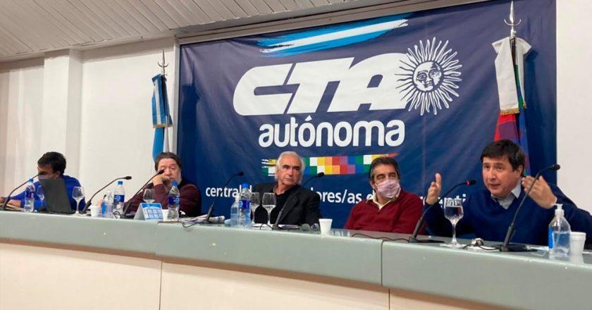 La CTA Autónoma tracciona el debate sobre el ingreso universal para trabajadores informales junto a Juan Grabois y Daniel Arroyo