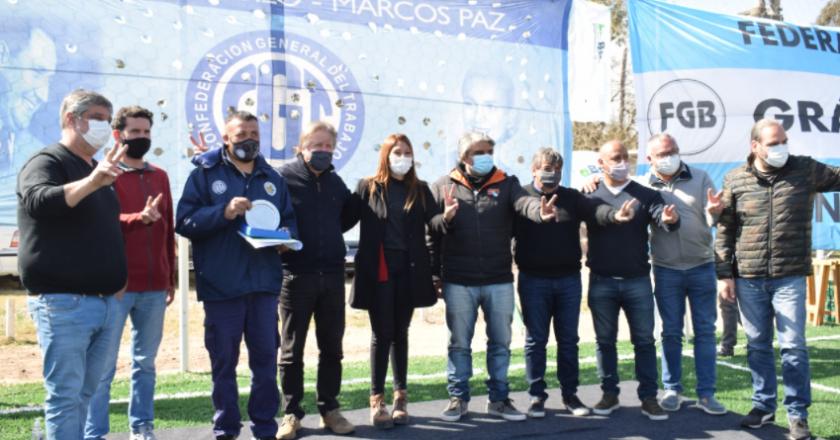 Regional Oeste de la CGT respaldó a precandidatos del FdT y homenajeó a trabajadores esenciales