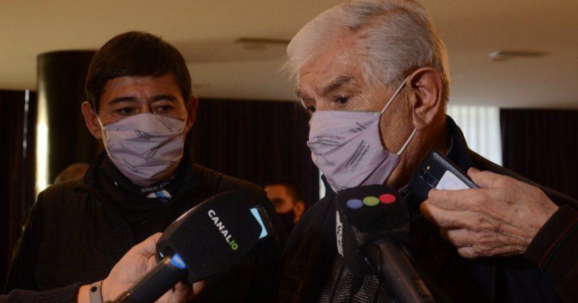 Pereyra y Rucci ya se muestran como un binomio y esperan el cierre de listas para saber si tendrán competencia en el gremio petrolero más potente del país
