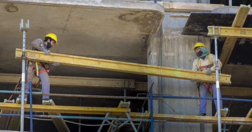 #BroteVerde La construcción ya superó los niveles de empleo previos a la pandemia