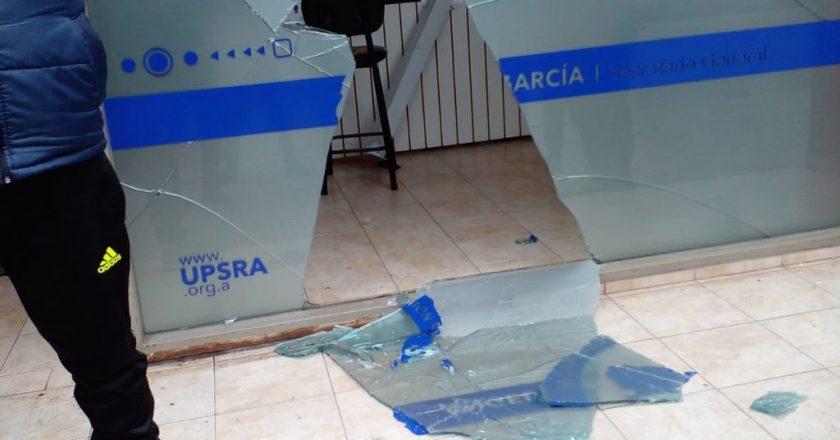 Gremio de la Seguridad Privada repudió el violento ataque a una de sus sedes