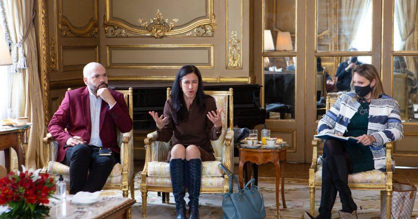 Otro gesto de «Juan Domingo Biden» derivó en una inédita cumbre entre la embajada de EEUU y la CGT