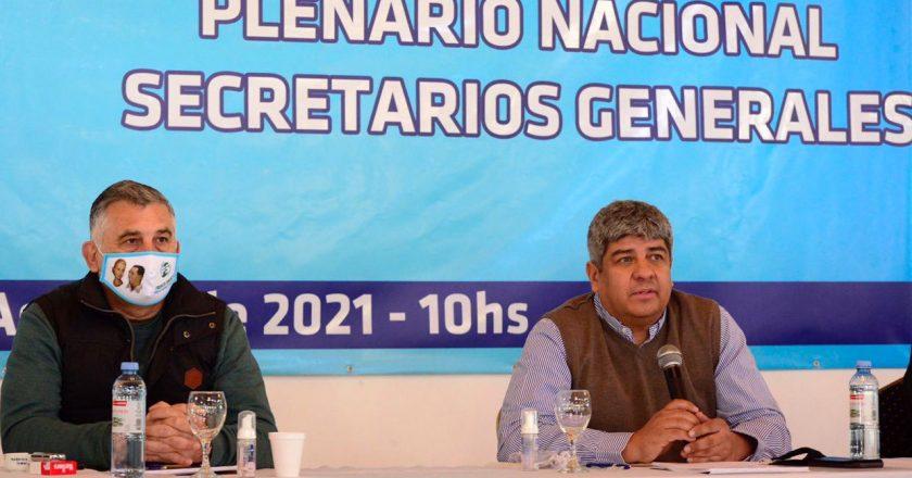 Pablo Moyano pidió la unidad de la CGT para «estar preparados para la contraofensiva que se va a venir en los próximos meses»