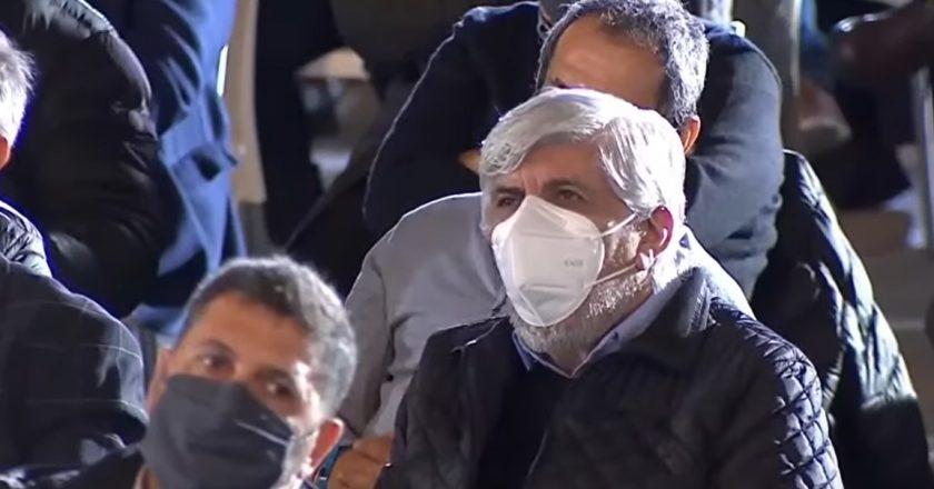 Tras la tensión por la renuncia de Facundo, Hugo Moyano se mostró en el cierre de campaña del Frente de Todos