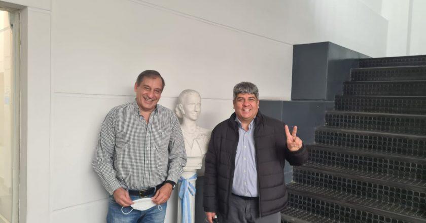 Con la mira en el retorno a la CGT, Pablo Moyano abrochó el respaldo de los trabajadores de PAMI