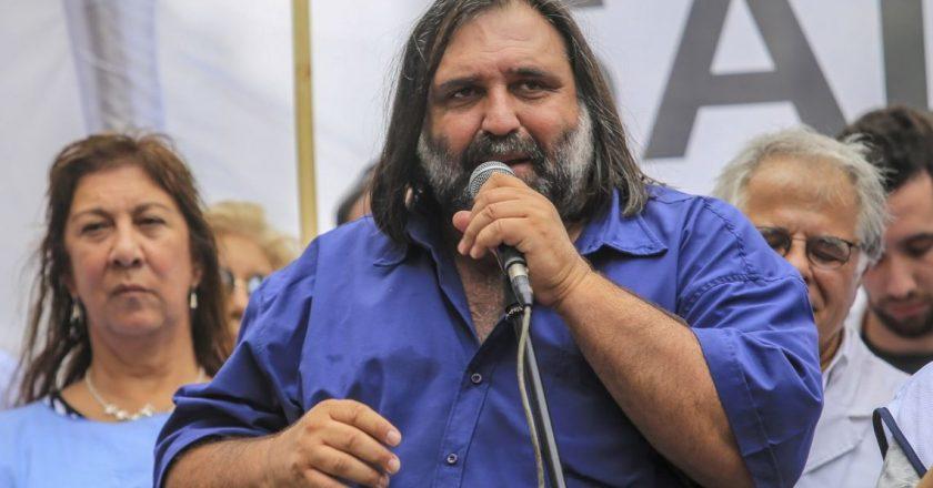 """Baradel condenó el «linchamiento mediático» a la docente de La Matanza: «Una cosa es el adoctrinamiento y otra cosa es el debate"""""""