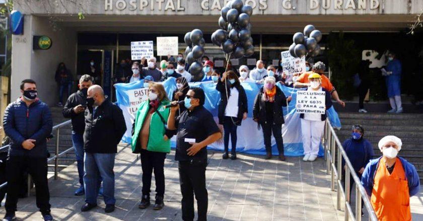 ATE denuncia que Larreta despedirá más de 100 enfermeras del Hospital Durand y lo acusan de «utilizar» al personal de salud como «material descartable»