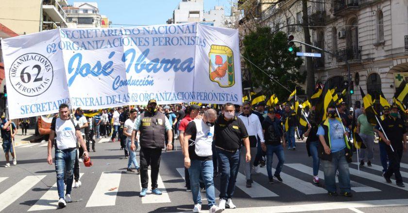 Ibarra bancó al Gobierno y pidió «más peronismo» para que «se encuentre un rumbo político, económico y de trabajo»