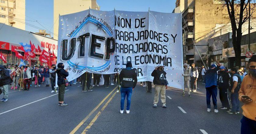 La UTEP confirmó que moviliza junto al movimiento obrero «cabeza de los procesos de transformación»