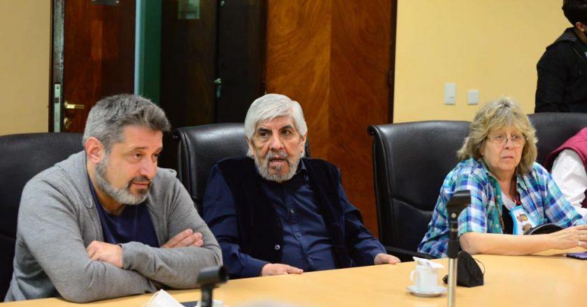 Moyano volvió a Azopardo luego de 3 años y aseguró que «Ningún trabajador va a votar a alguien que le va a quitar derechos»
