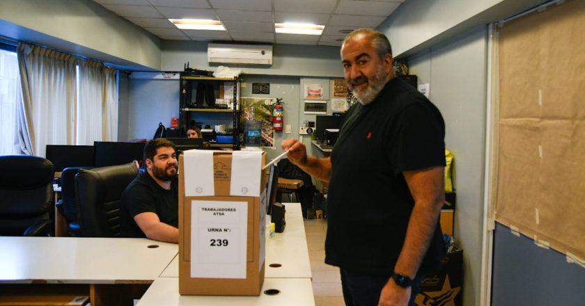 Daer hizo una demostración de fuerza, consiguió casi 23 mil votos en Sanidad y ya piensa en la CGT