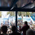 Masiva movilización en rechazo al avance de la Justicia porteña sobre la nacional: «Parece una cuestión jurídica pero es política»