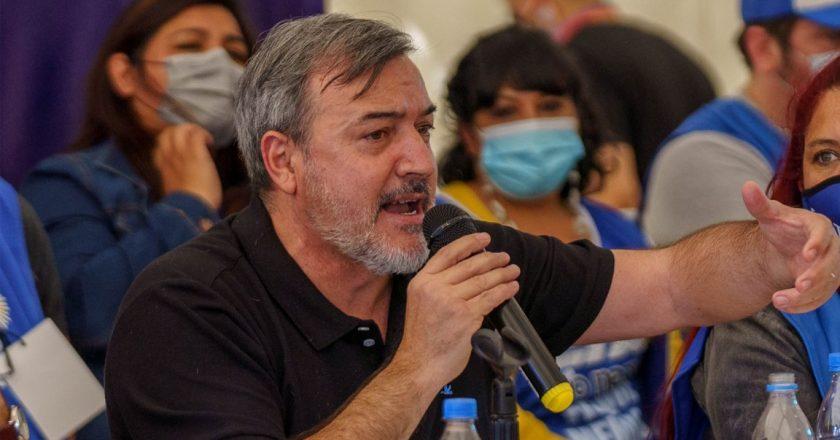 """Río Negro: Aguiar aseguró que """"el verdadero peligro es fogonear una cultura antimapuche que beneficia a Lewis y Benetton"""""""