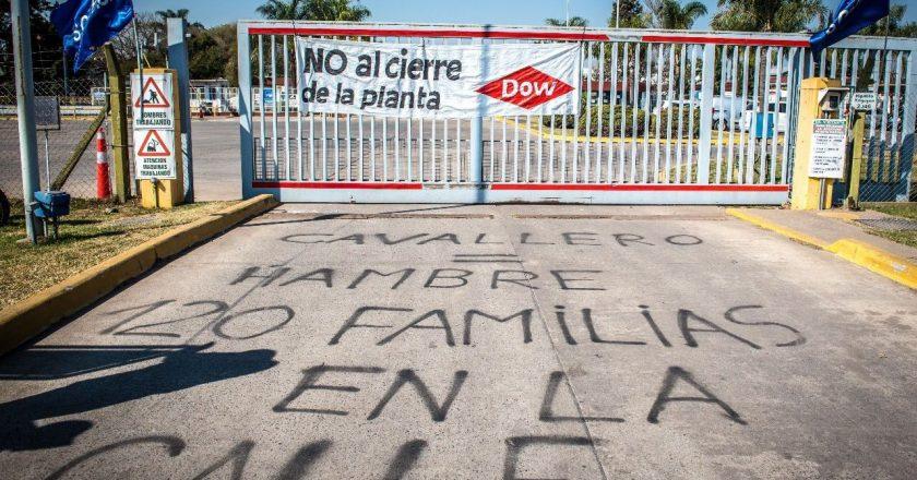 Como había pedido Cristina, Defensa de la Competencia ordena no innovar y frena el cierre de la planta de Dow