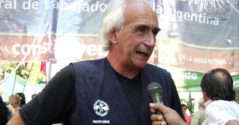 La CTA Autónoma rechazó la pretensión de la UIA de reformar el sistema indemnizatorio y cuestionó el apoyo de Facundo Moyano