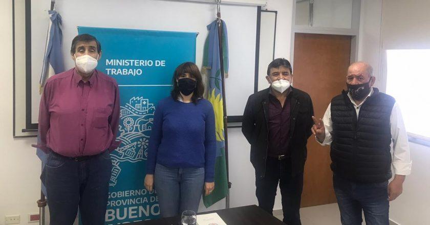 Voytenco firmó convenios y ratificó su acercamiento a la gestión de Kicillof