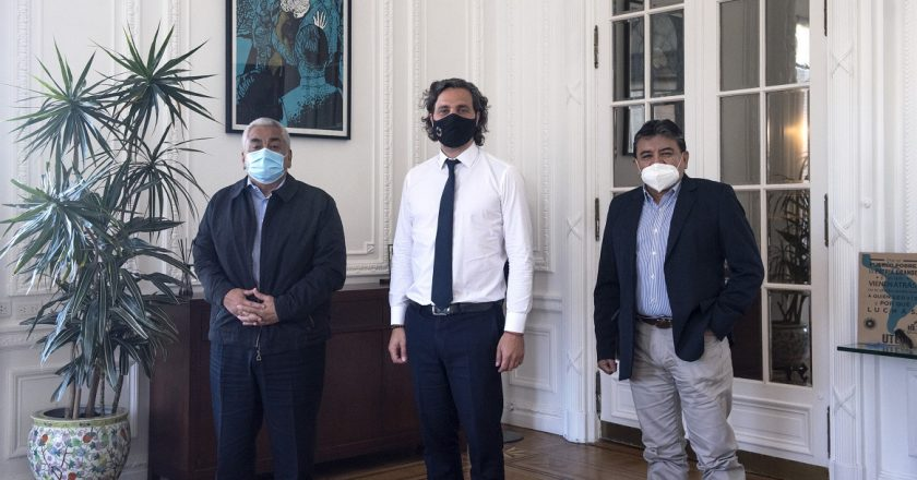 Voytenco se reunió con Cafiero y profundizó el acercamiento de la Uatre al gobierno