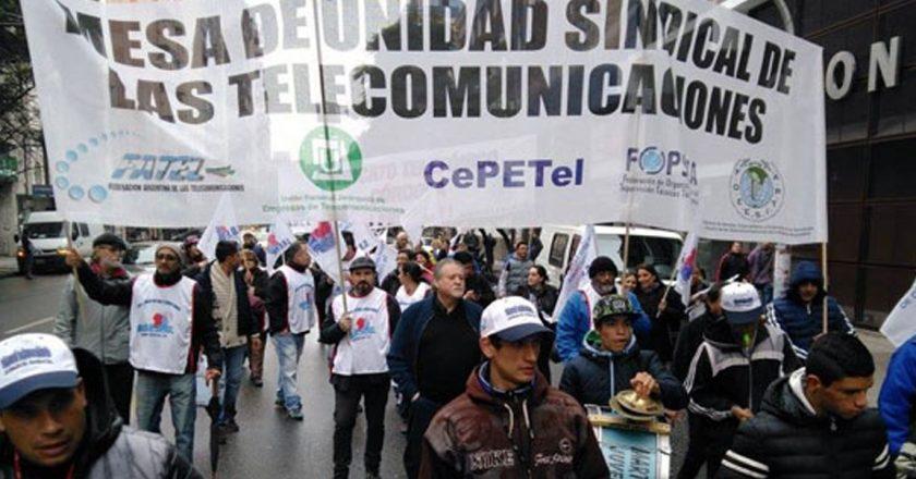 La Mesa de Unidad Sindical de los telefónicos acordó un aumento paritario de 12% y acumula un 32% en 8 meses